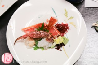Hyousetsu-no-mon sapporo king and hairy crab top course menu