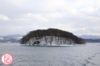Lake Toya island Manju-jima