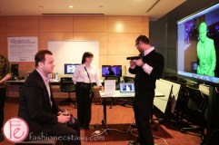3d scanning at book lover's ball 2015