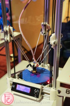 3d printing at book lover's ball 2015