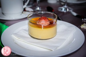 creme brûlée with sour cherry & red date sorbet