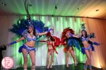 carnival dancers at riobel 20th anniversary party