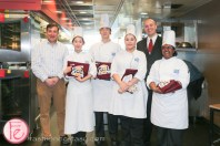 George Brown Culinary school students