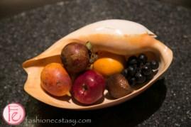 W Hotel Seminyak welcome fruits