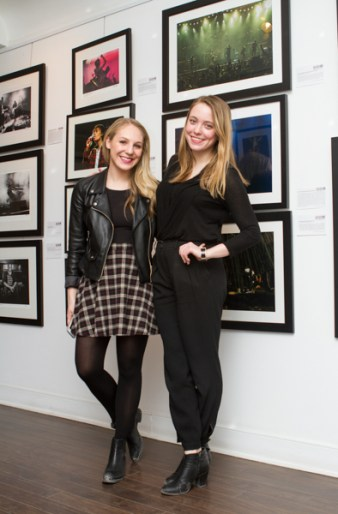 Melissa Augimeri and Nicole Martin of The Knot Group sound image competition 2015 analogue gallery