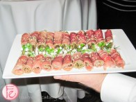 hors d'oeuvres at fairmont royal york
