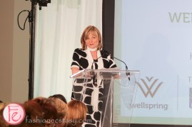 Beverly Thomson well dressed for spring 2015 wellspring