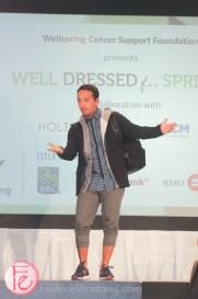 Frank Ferragine well dressed for spring 2015