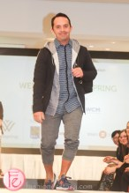 Frank Ferragine well dressed for spring 2015 wellspring fashion show