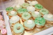 green donuts
