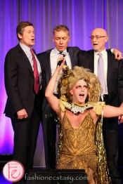 Mayor John Tory and Taylor Mac at theatre ball 2015 canadian stage