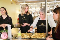 nell a cucina cooking clan with b and g wine