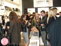 lacoste x town shoes ss15 footwear collection launch