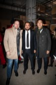 Marco Tallarico president, Appliance Love flanked by Matthew Davis and Allen Chan DesignAgency