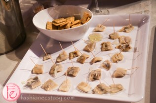 Feature Foods' herring paired with vodka
