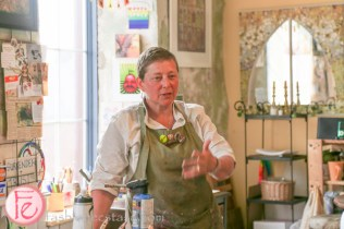 Encaustic Art making with Andre Bird