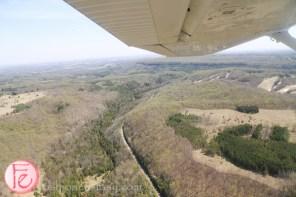 flight over headwaters