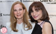 Marilyn Field Jeanne Beker at darearts leadership awards 2015