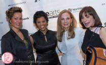 Waneek Horn Miller, Marci Ien, Marilyn Field, Jeanne Beker darearts gala