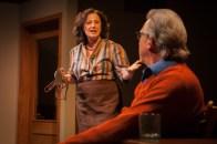 "L-R, Jeri Lynn Cohen, Howard Swain in ""The Office"" by Alice Munro"