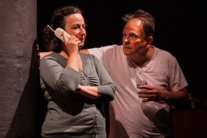 "L-R, Jeri Lynn Cohen, Paul Finocchiaro in ""Dolly"" by Alice Munro"