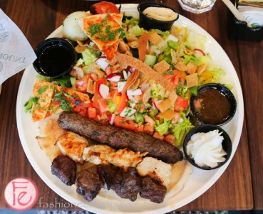 Mixed Grill with garden salad