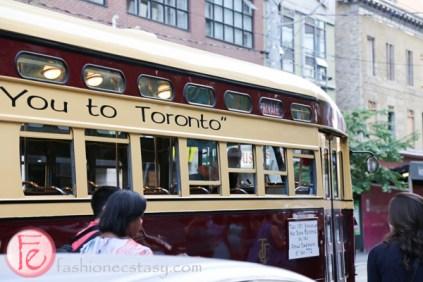 1951 vintage toronto streetcar queen street 501 cider launch