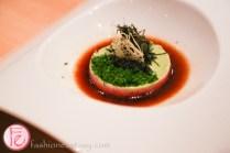chutoro tatare with caviar soto