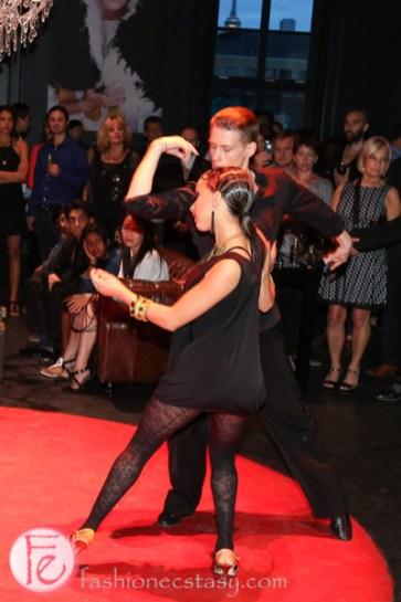 Sharon Tudorovsky and Alex Maslanka ball dance
