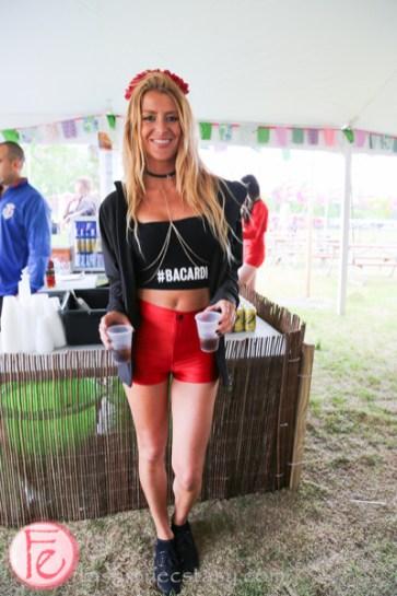 bacardi promo girl bestival toronto 2015