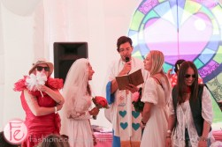 bestival toronto 2015 inflatable church wedding