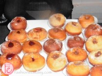 donuts at icff opening party 2015