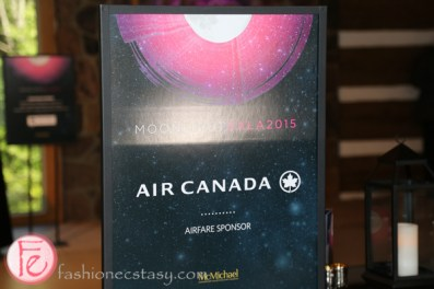 air canada sponsor moonlight gala 2015