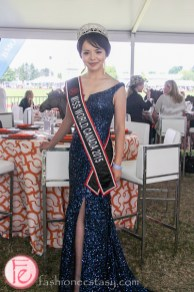 Anastasia Lin Miss World Canada polo for heart 2015
