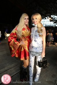 Sylvia Mantella and Suzanne Rogers scrubs in the city gala 2015 tokyo for sickkids