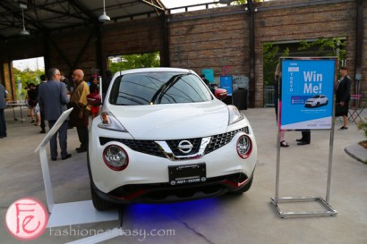 scrubs in the city gala 2015 raffle prize-2015 White Nissan Juke FWD/SUV