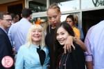 Sara Waxman, Stacey McKenzie, Tanya Hsu veuve clicquot rich launch toronto