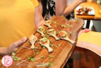 passed scallops at veuve clicquot rich launch toronto