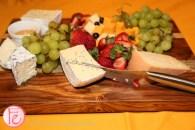 cheese board at veuve clicquot rich champagne launch toronto