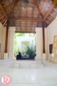 conrad maldives deluxe beach villa open-air bathtub