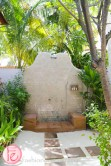 conrad maldives deluxe beach villa open-air shower