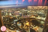 view from Shangri-La Hotel London at The Shard