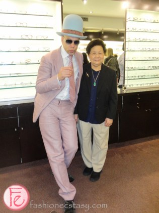 Ralph Anderl ic! berlin eyewear launch minh chau optical