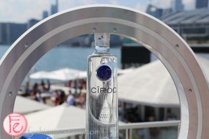 ciroc premium vodka bottle