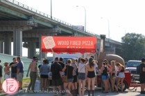 wood fired pizza food truck time festival