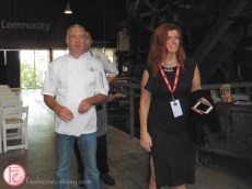 Brad Long and Judy Merry Toronto Food and Wine Show