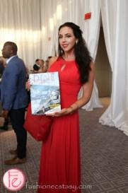 kara granger holding dine magazine