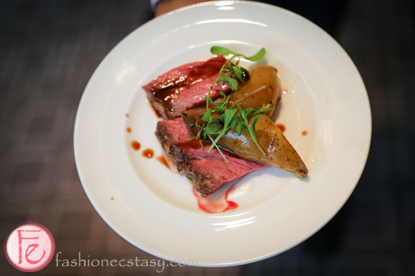 flat iron steak four seasons hotel dine magazine 10th issue launch
