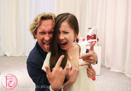 tanya hsu and michael wekerle at dine magazine 10th issue launch