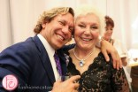 michael wekerle and sara waxman at dine magazine 10th issue launch